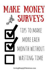 Maximize the amount of money you can make taking surveys. You can earn hundreds or more each month taking surveys. Follow these tips to make more money online with surveys.