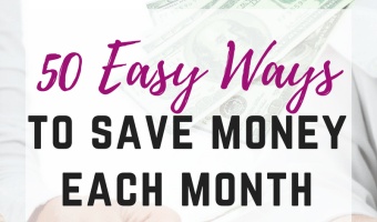 Saving money doesn't have to be hard. Instead of beating yourself up about not saving enough each month, change your behavior. Making small changes in your life will have a huge affect on your budget. Here are 50 easy ways to save money every month.