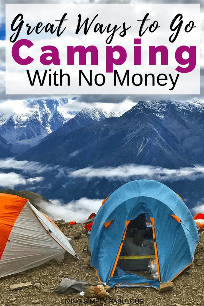 Having fun this summer doesn't have to be expensive. One of the most affordable things to do is to go camping. Find some great ways on how to go camping with no money.