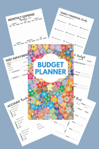 Great way to pay down debt, track your expenses, and organize your household finances. Grab a copy of this budget planner today.