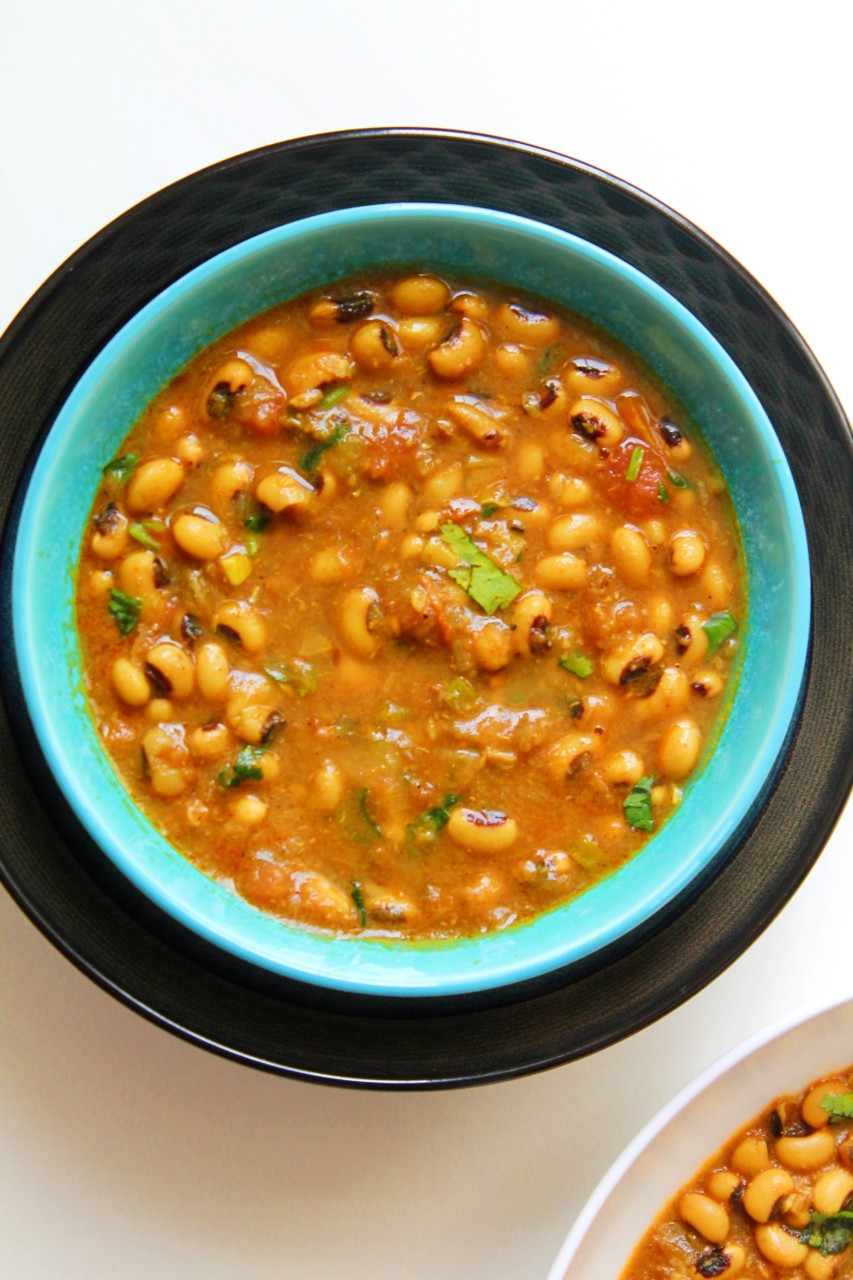 Black Eyed Peas Curry / Lobia Masala – Instant Pot, Stove Top