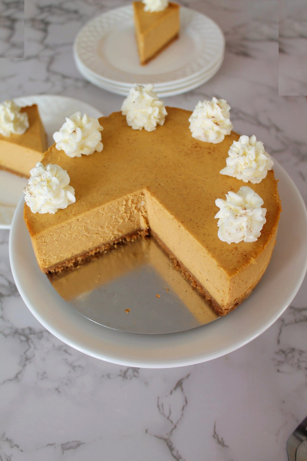 Pumpkin Cheesecake - Instant Pot, Oven