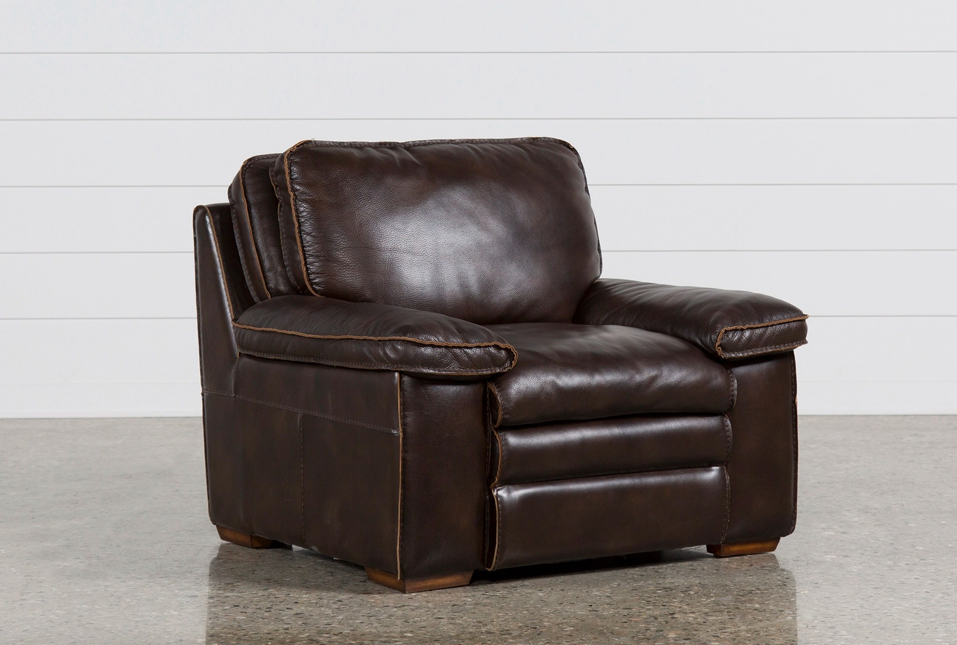 Brown Leather Chairs Walter Leather Chair