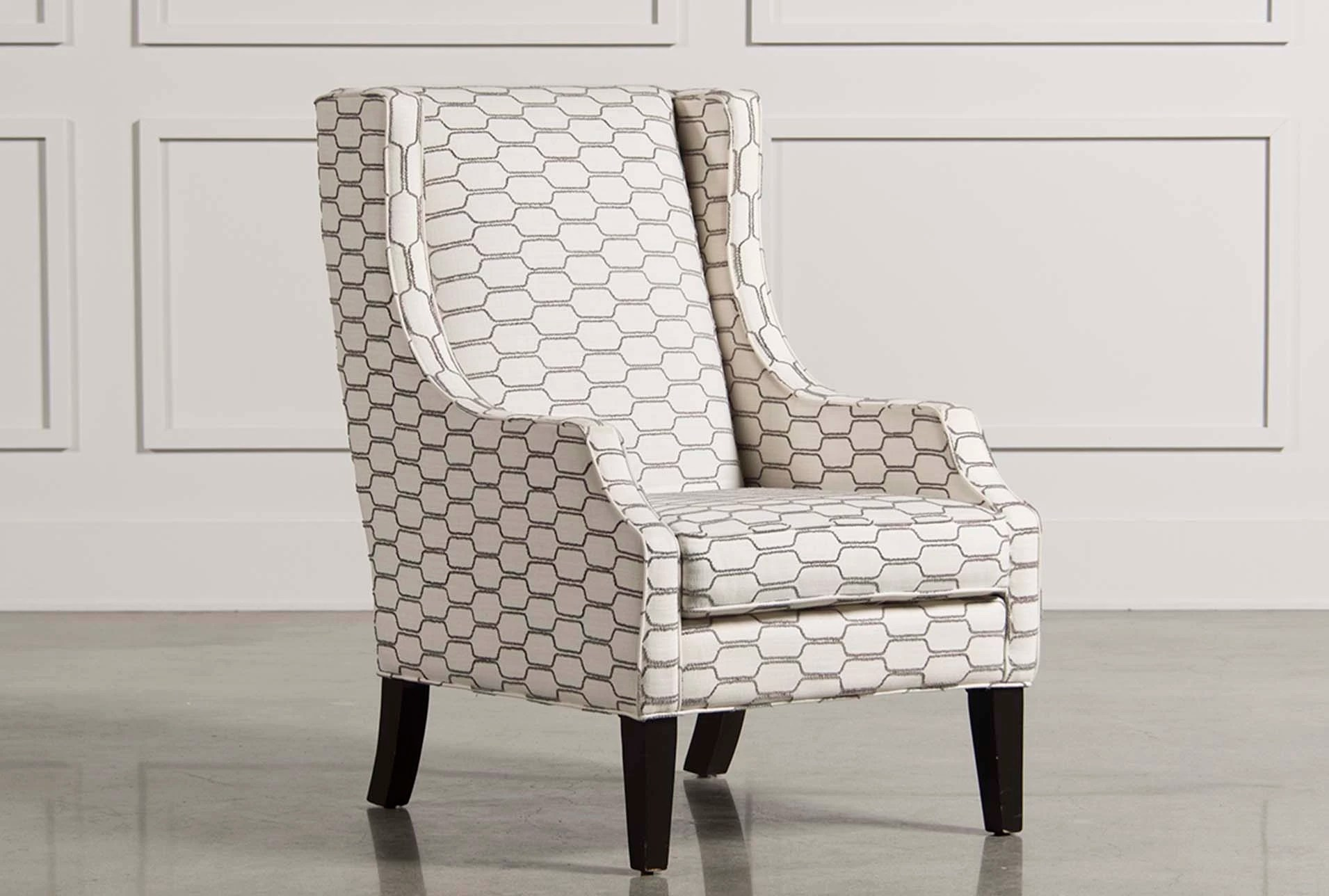 Wing Chair Lewis Zinc Wing Chair