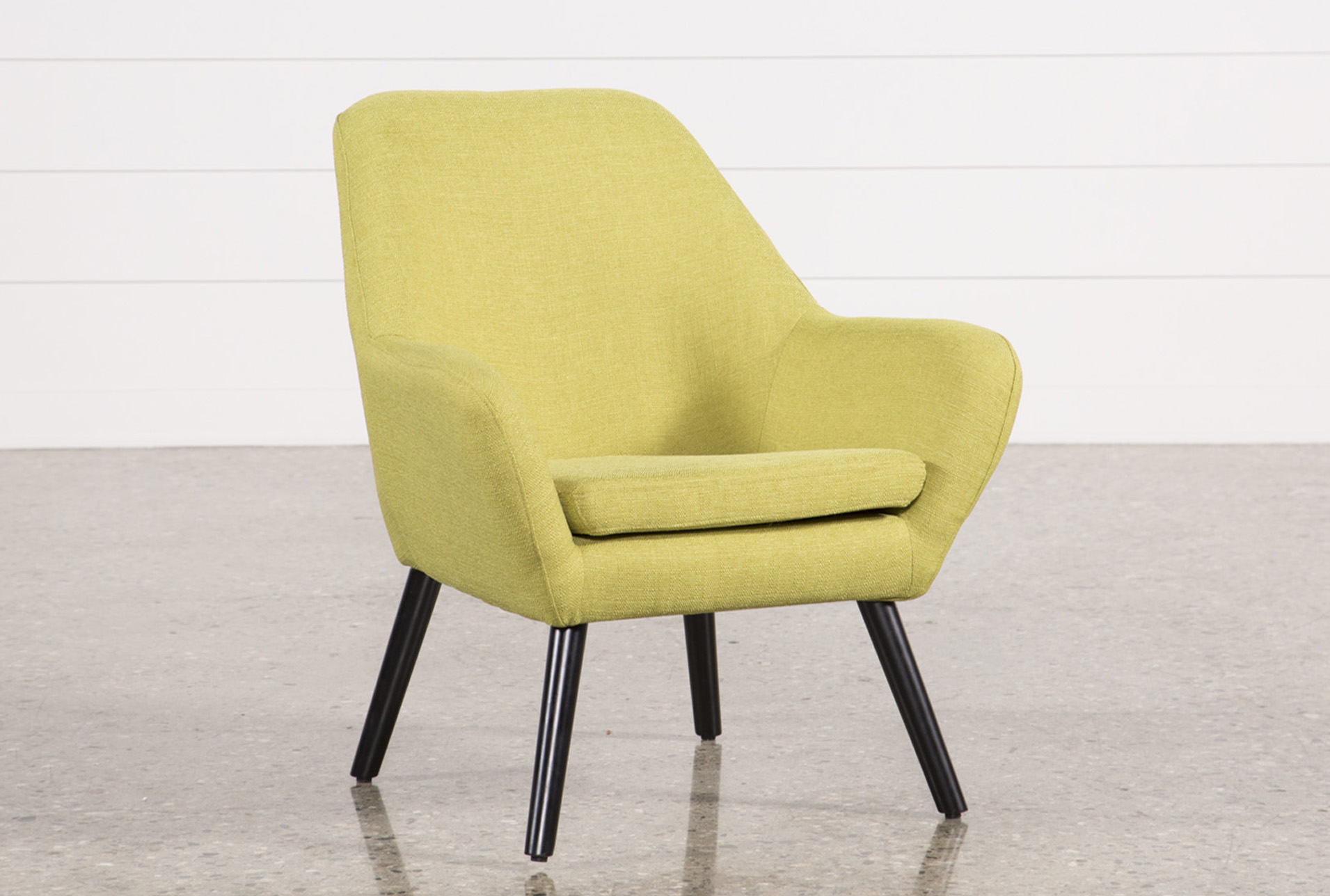 Lime Green Accent Chair Mercury Lime Accent Chair Living Spaces