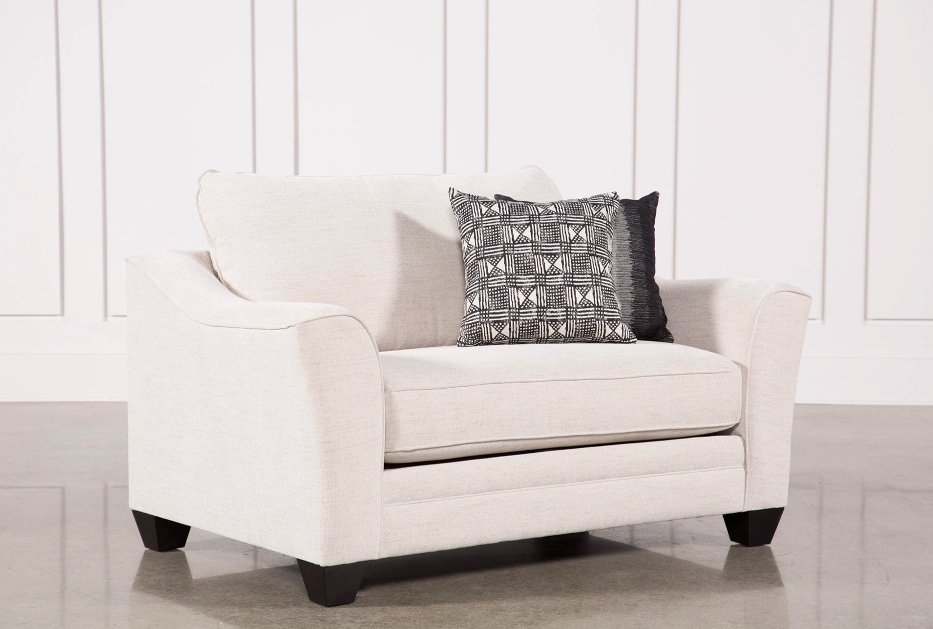 Oversized Living Room Chair Mesa Foam Ii Oversized Chair Living Spaces