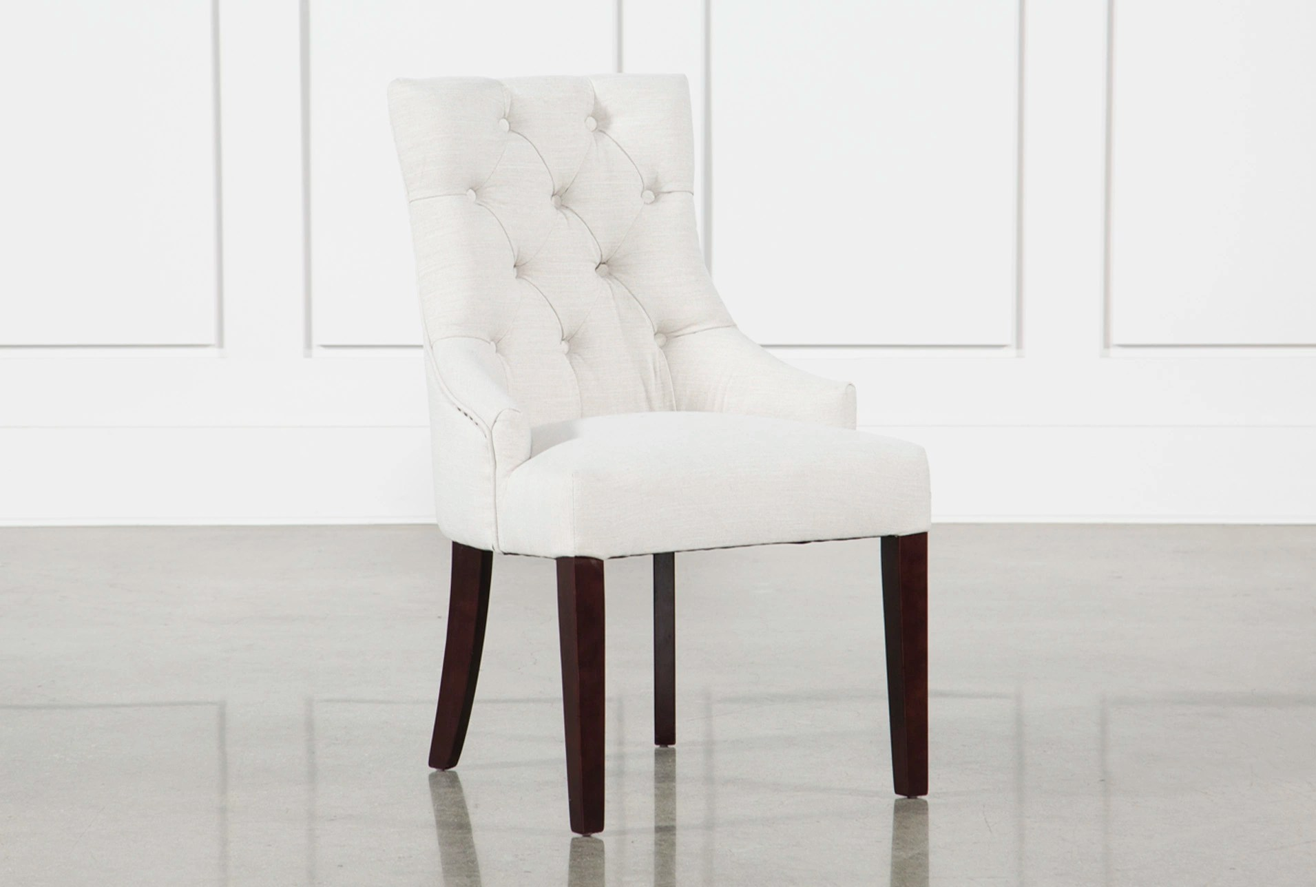 White Dining Room Chair Natural Dining Room Chairs To Fit Your Home Decor Living Spaces