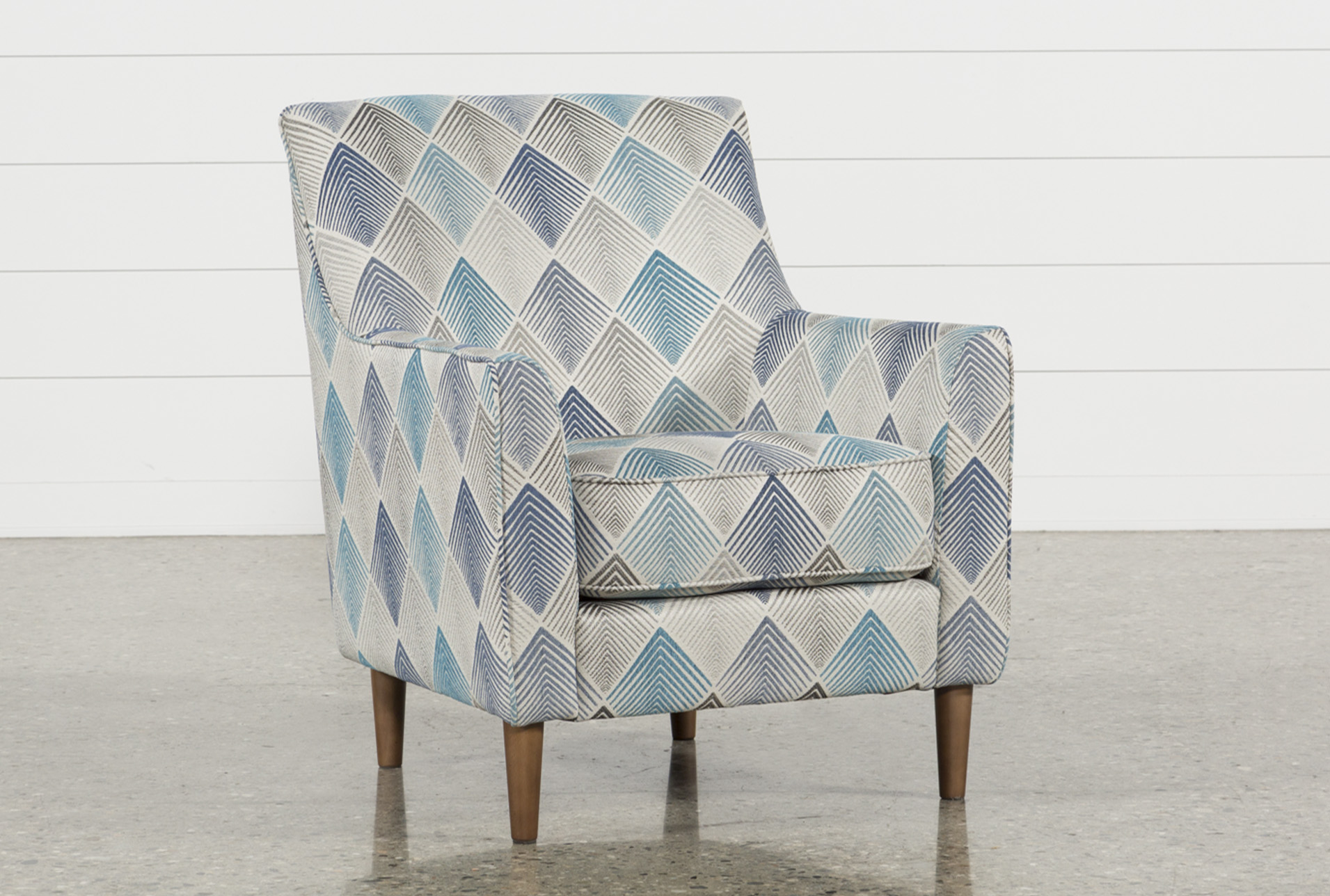 Blue Patterned Chair Blue Accent Chairs For Your Home And Office Living Spaces