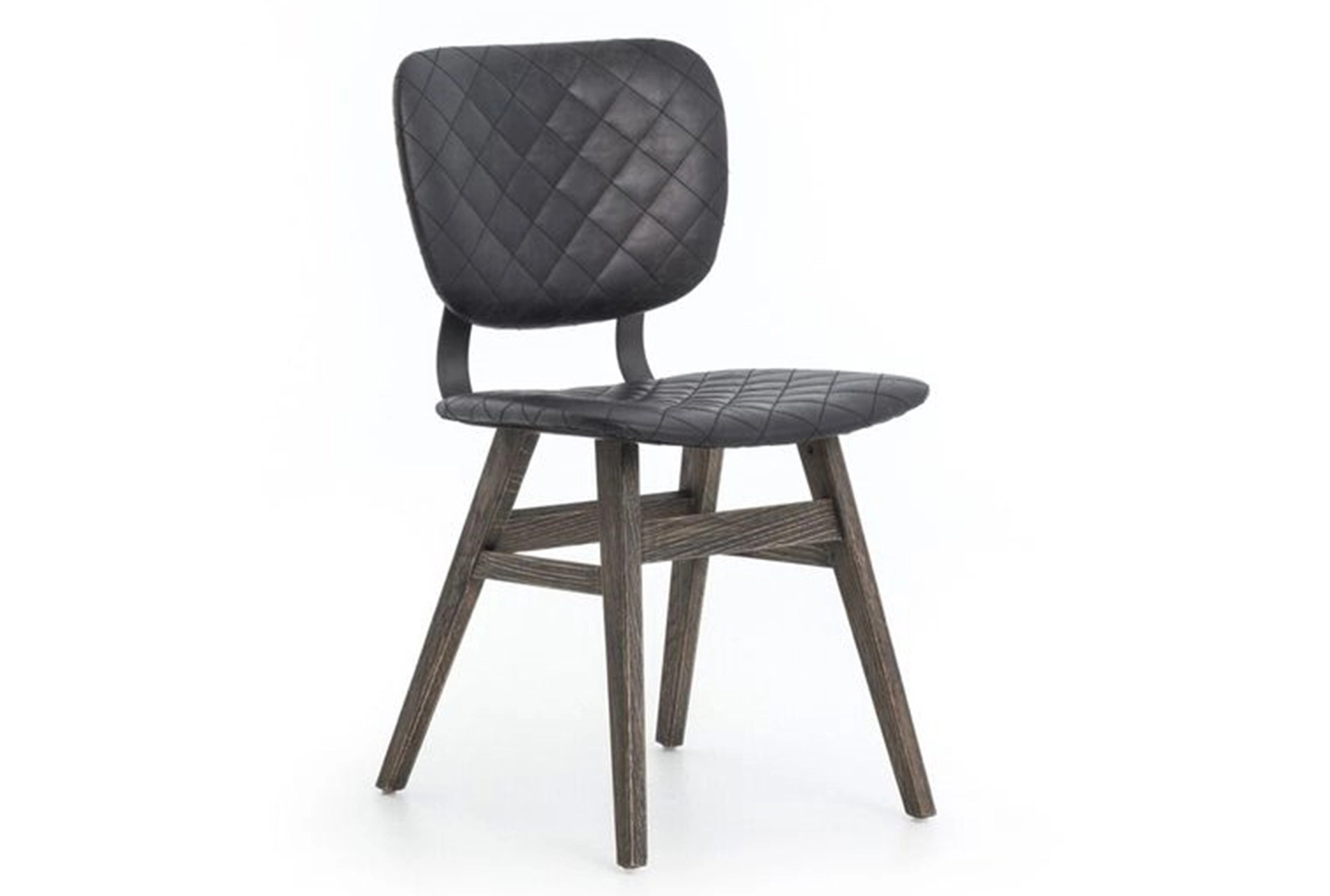 Living Spaces Dining Chairs Quilted Black Dining Chair Living Spaces