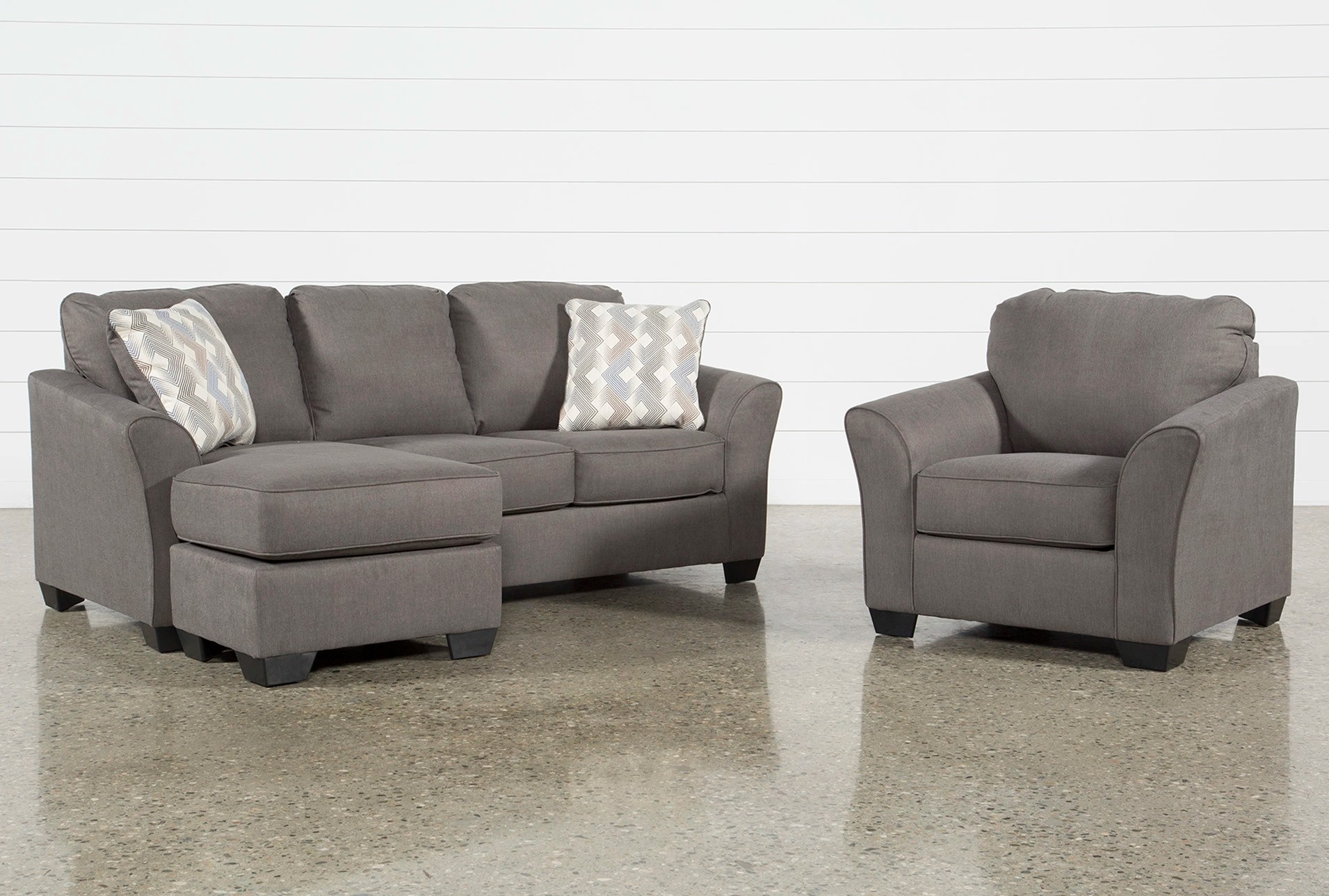 Sleeper Chairs Tucker 2 Piece Living Room Set With Queen Sleeper And Arm Chair