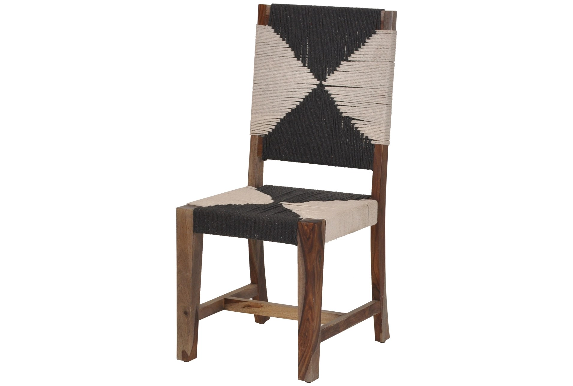 Woven Dining Chair Natural Hand Woven Armless Dining Chair