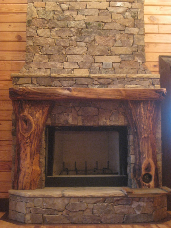 How To Build In A Gas Fireplace Living Stone Masonry - Living Stone Masonry- Asheville Nc