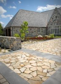 Flagstone Patio DIY | Livingston Farm: Outdoor Structures ...