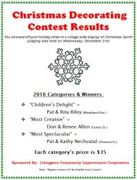 Christmas Door Decorating Categories