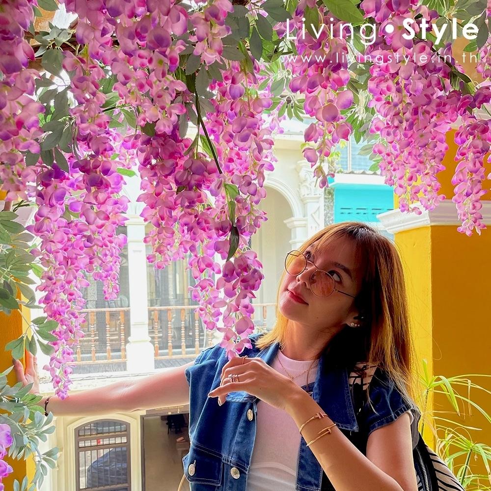 มุมถ่ายรูป ร้านกาแฟ สร้างมุมถ่ายรูป สวยๆ %%sep%% Livingstyle ตกแต่งบ้าน แจกันดอกไม้ ดอกไม้ปลอม ต้นไม้ปลอม ดอกไม้ประดิษฐ์ ต้นไม้ประดิษฐ์ สวนแนวตั้ง