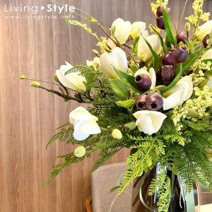 ดอกแมกโนเลีย แมกโนเลีย แมกโนเลียสีขาว ดอกไม้ปลอม ดอกไม้ประดิษฐ์