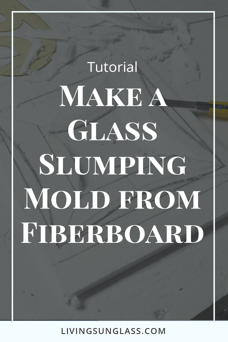 This step by step tutorial will walk you through making your own glass slumping molds using fiberboard. Now you can make your own unique shapes for forming your fused glass plates.