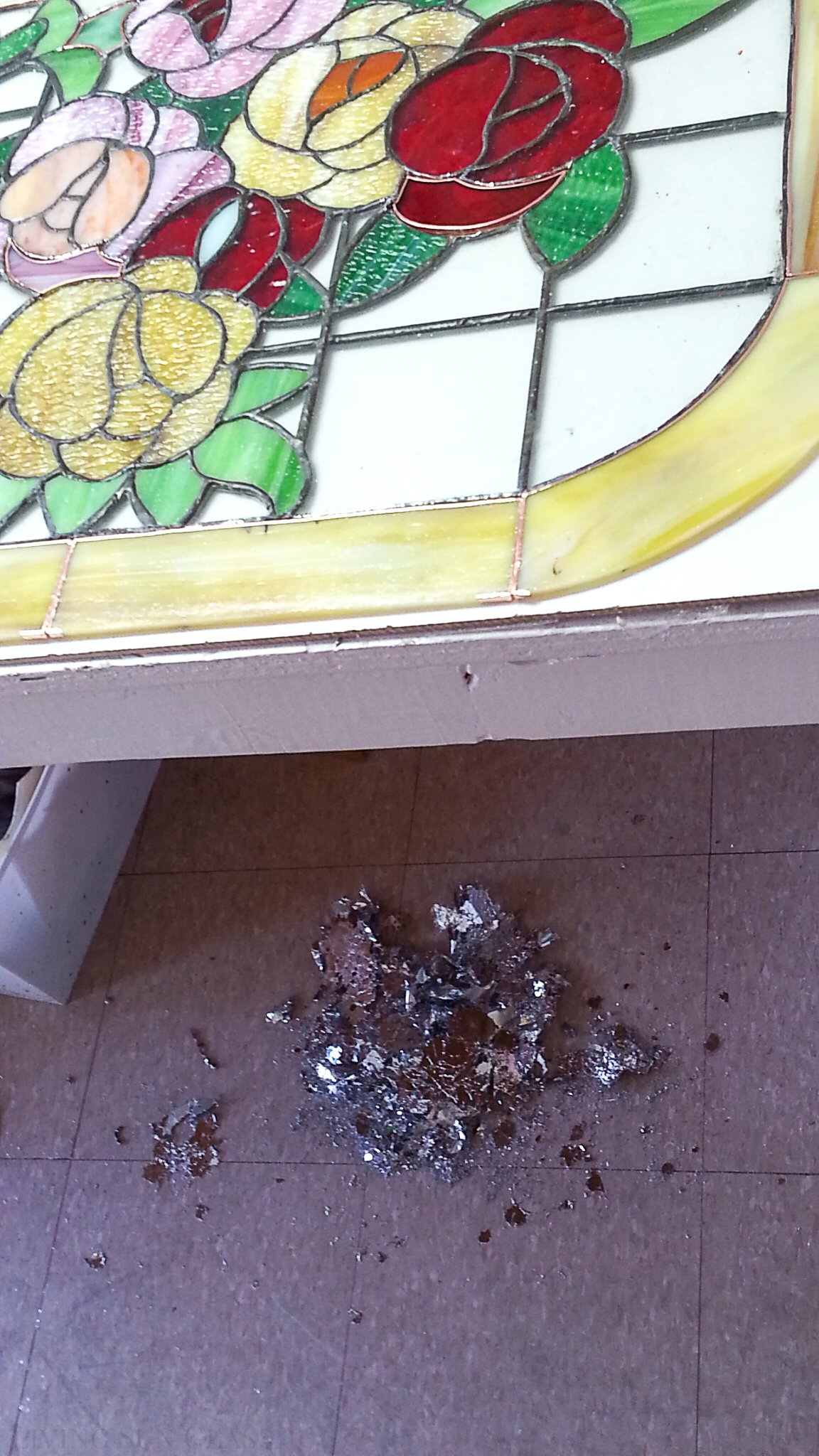 old solder melted off to reuse