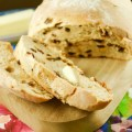 This sweet crispy cinnamon raisin artisan bread is easy to make and