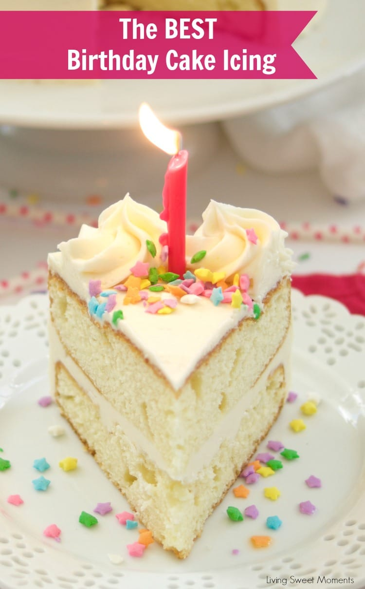 Birthday Cake Icing Recipe Living Sweet Moments