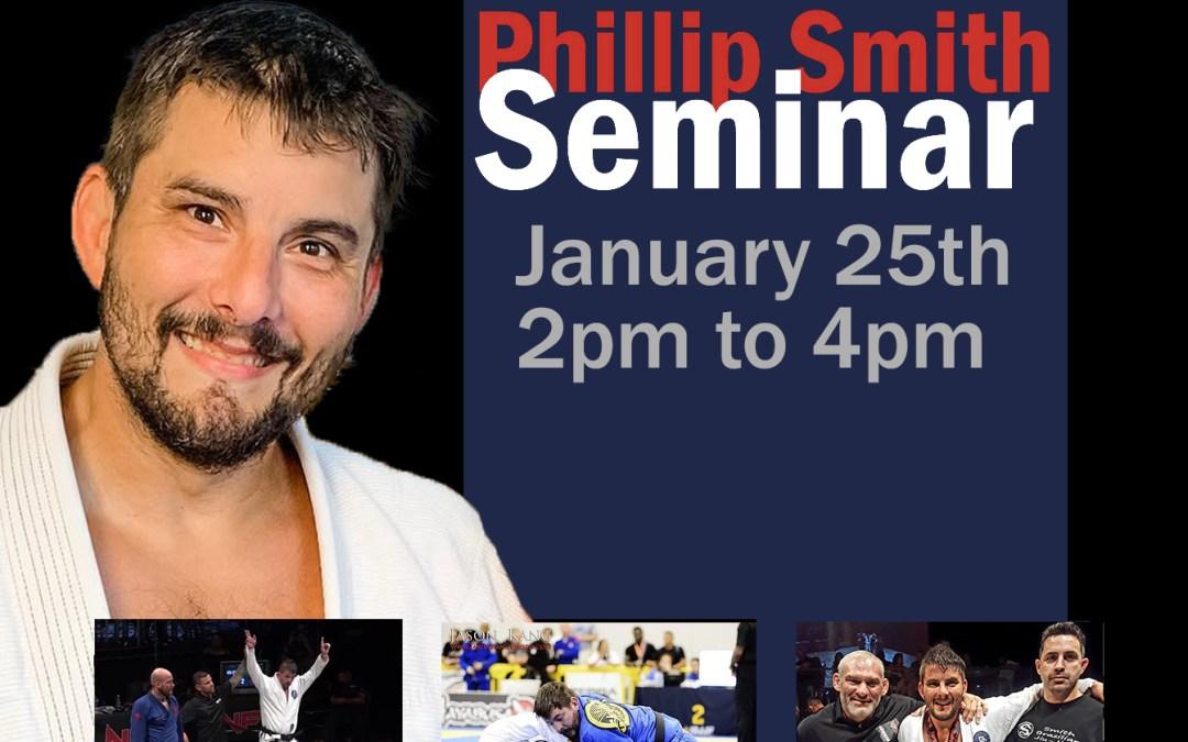 Jiu-Jitsu Seminar with Phillip Smith