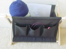 Project: Scotland Flag Knitting and my new organizer