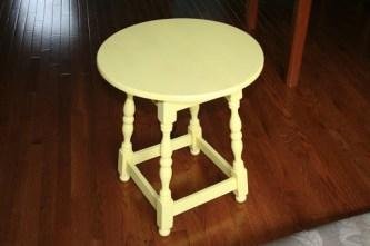 DIY: My yellow Lemonade Table...