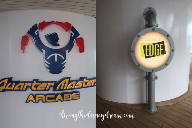 Disney Wonder Arcade now Edge