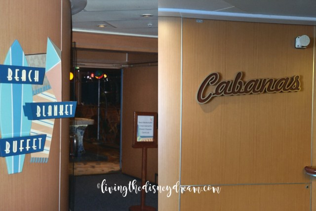 Disney Wonder Buffet Before and After