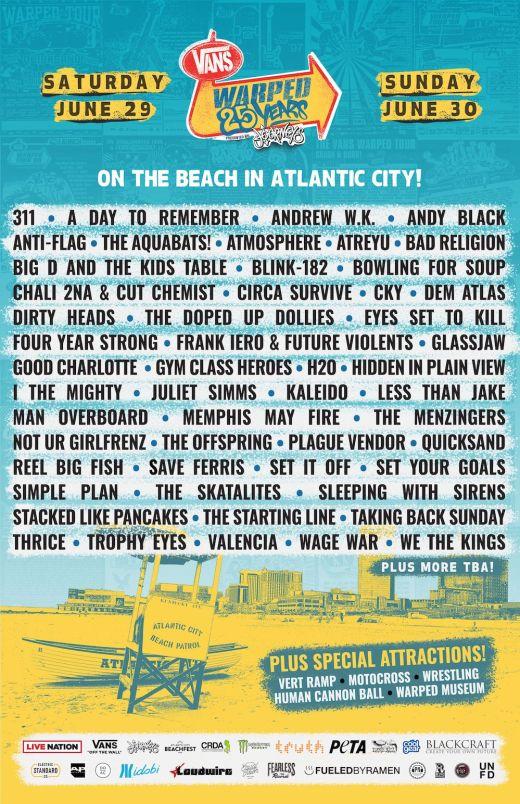 warped-tour-25th-anniversary-atlantic-city