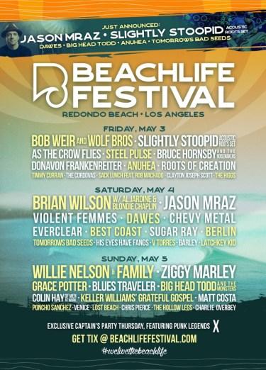 Beach Life Lineup