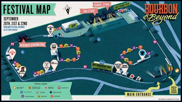 Festival Map Band B