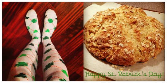 St. Patrick's Day collage