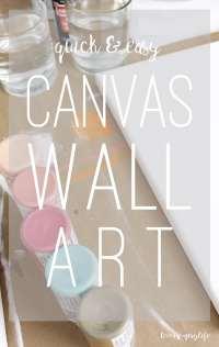 Diy Canvas Wall Art - [audidatlevante.com]