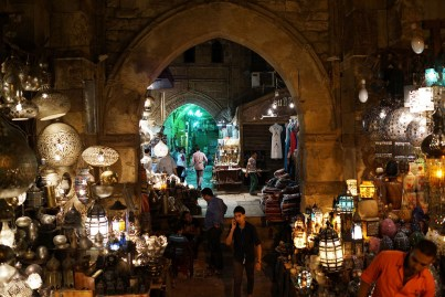 Egyptians shop in a market on the eve of Ramadaan 9, 2013 in Cairo, Egypt