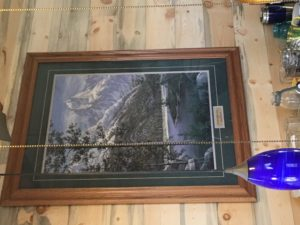 Spring in the Tetons painting