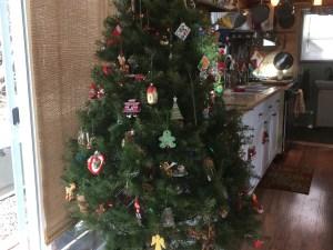 Christmas at Harmony Haven tiny house