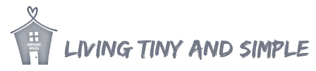 living tiny and simple logo
