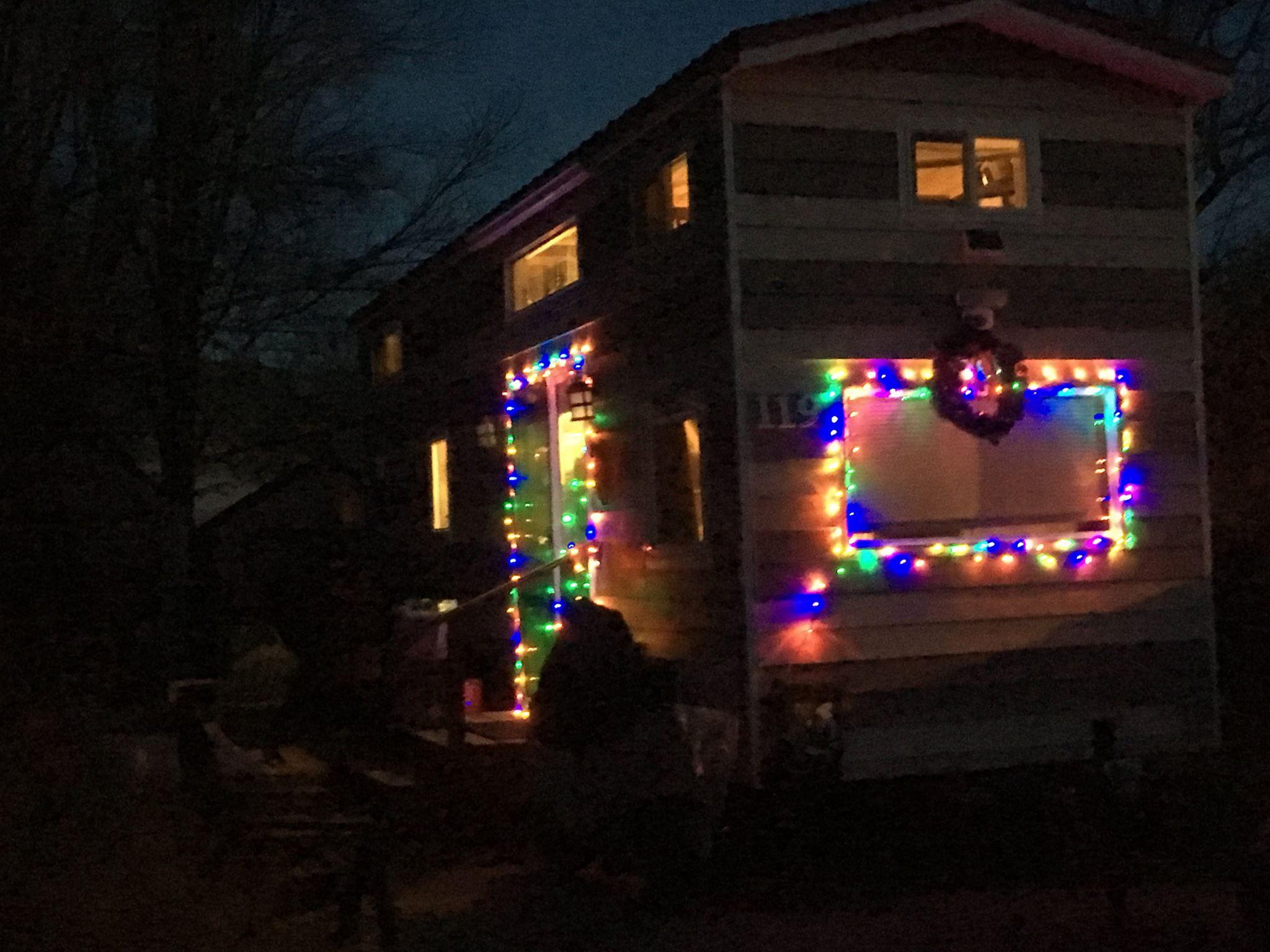A Tiny House Christmas Living And Simple How Do Lights Work