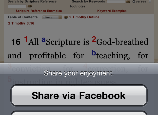 BFA Bible Study App Now Available