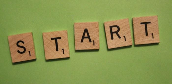 Commit to Progress Start Now