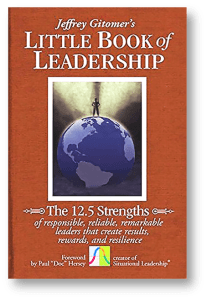 Little Book of Leadership by Jeffrey Gitomer