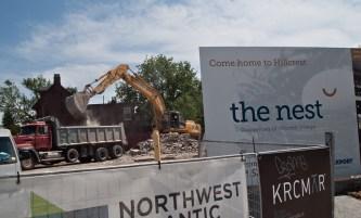 KFC demolition.