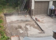 Garage is gone.