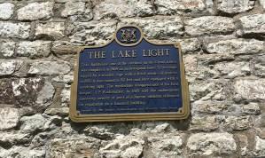 Gibraltar Point lighthouse plaque.