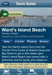 Swim guide Ward's.