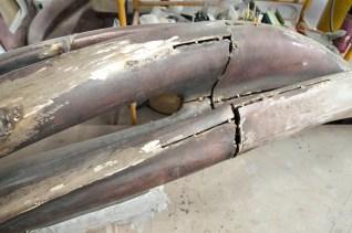 Bronze segments assembled.