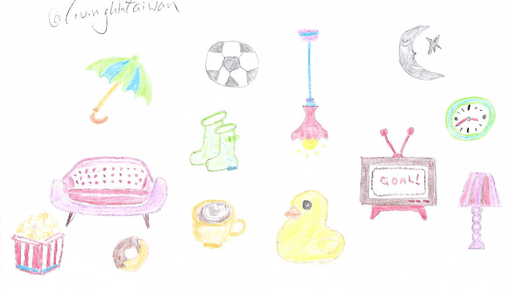 Drawing my World Cup life