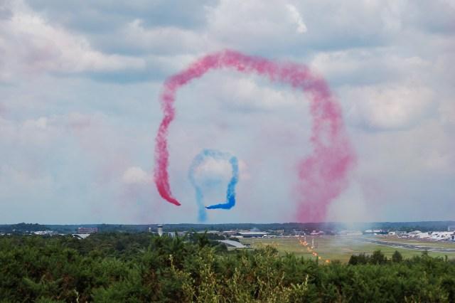 Red Arrows Farnborough Airshow