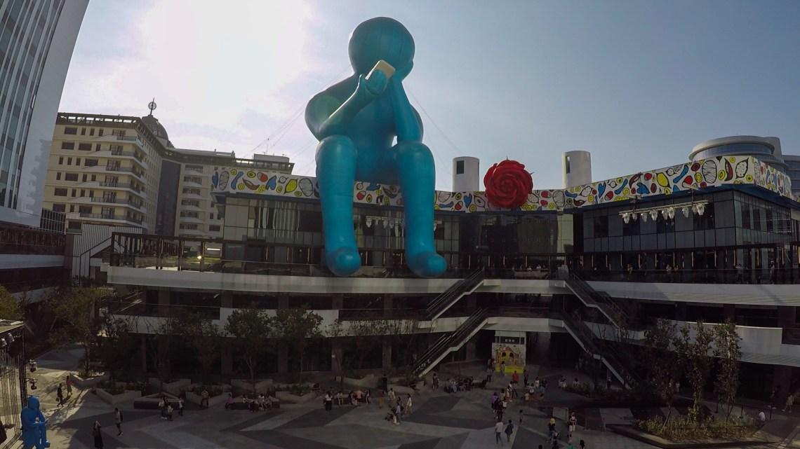 Sculpture of Modern Thinker